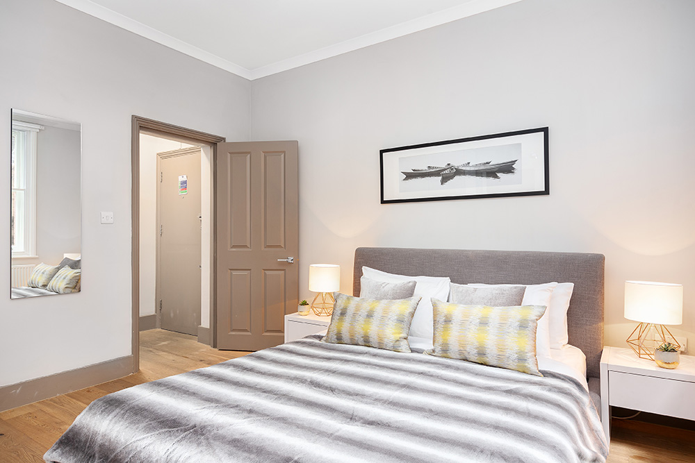 Bedroom at Cleveland Residences Serviced Apartments - Citybase Apartments