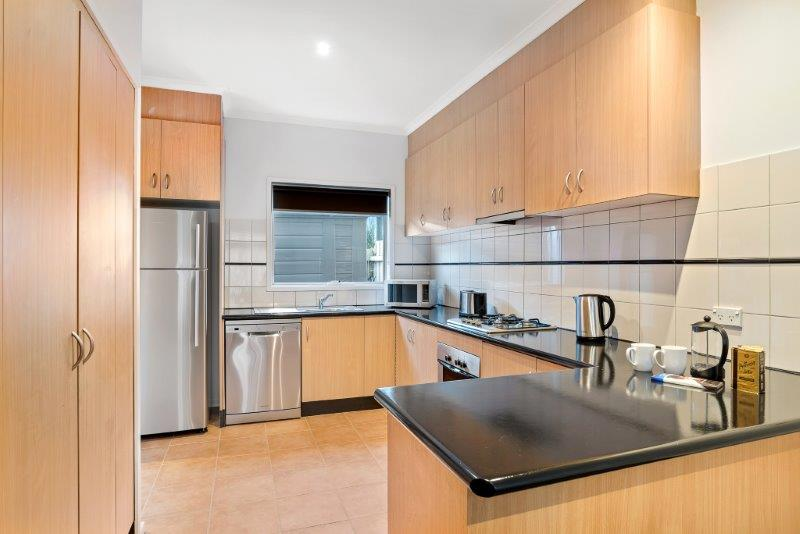 Kitchen at Quest Brighton on the Bay - Citybase Apartments