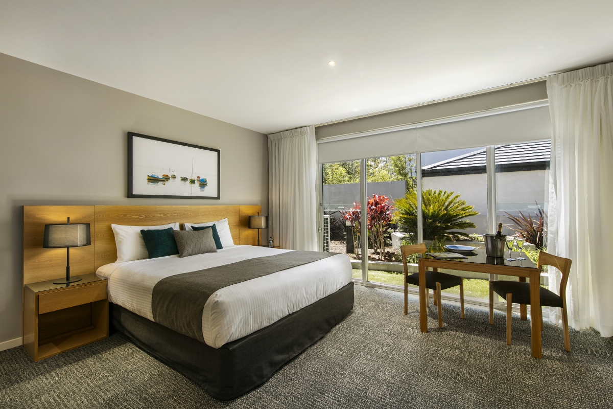 Bedroom at Quest Brighton on the Bay - Citybase Apartments