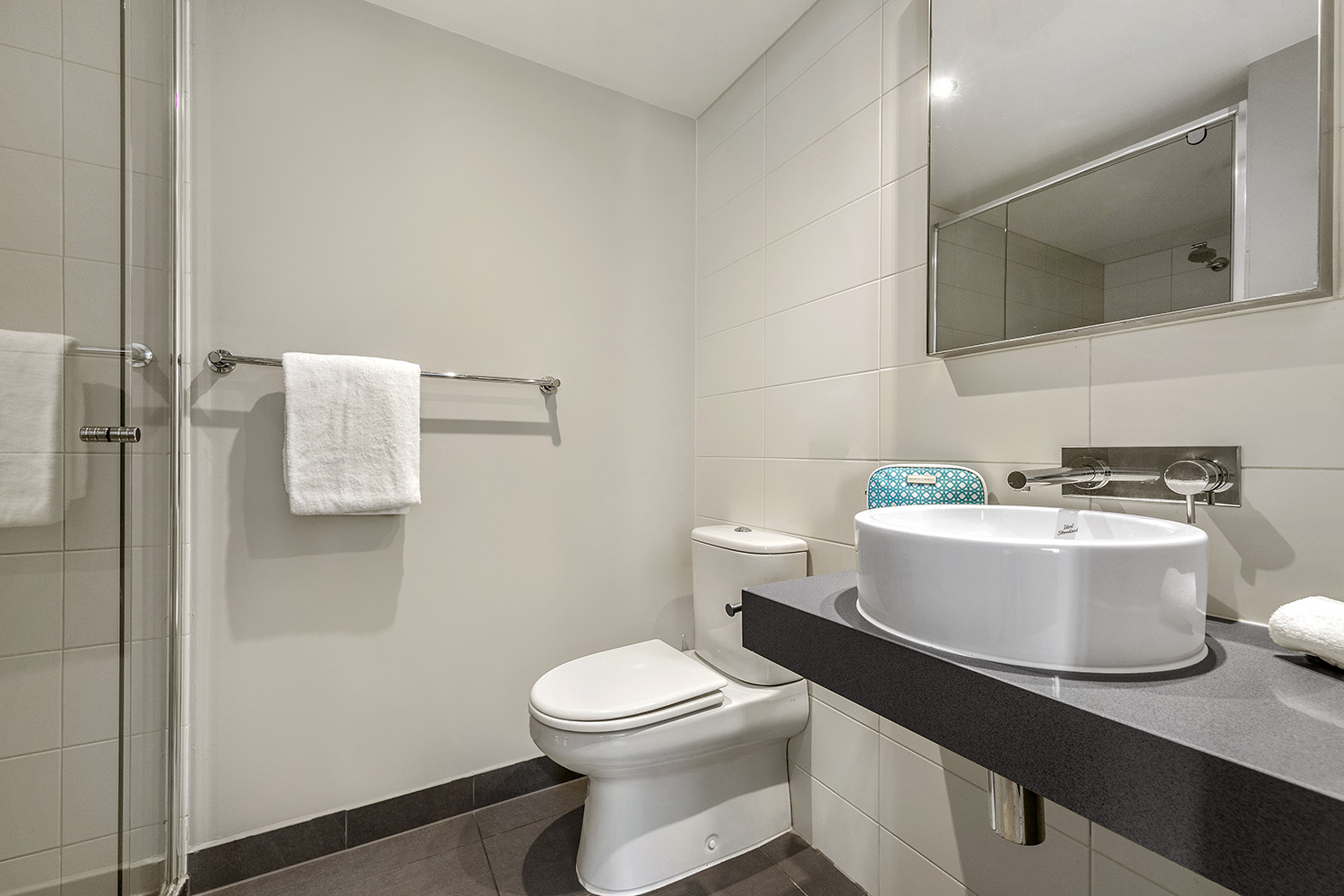 Bathroom at Quest Brighton on the Bay - Citybase Apartments