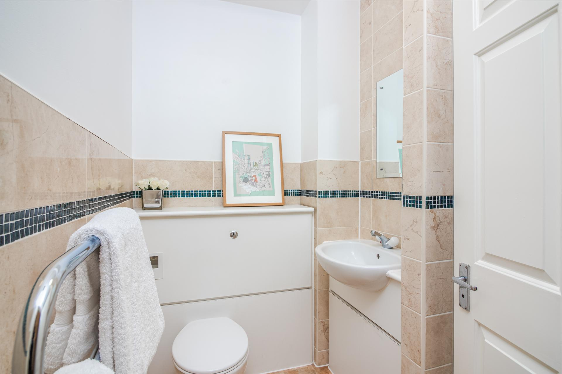Sink at Priory House Apartments, City, London - Citybase Apartments