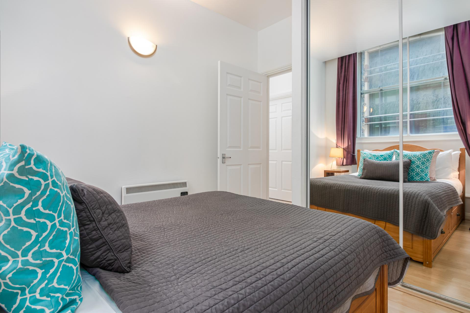 Bed at Priory House Apartments, City, London - Citybase Apartments