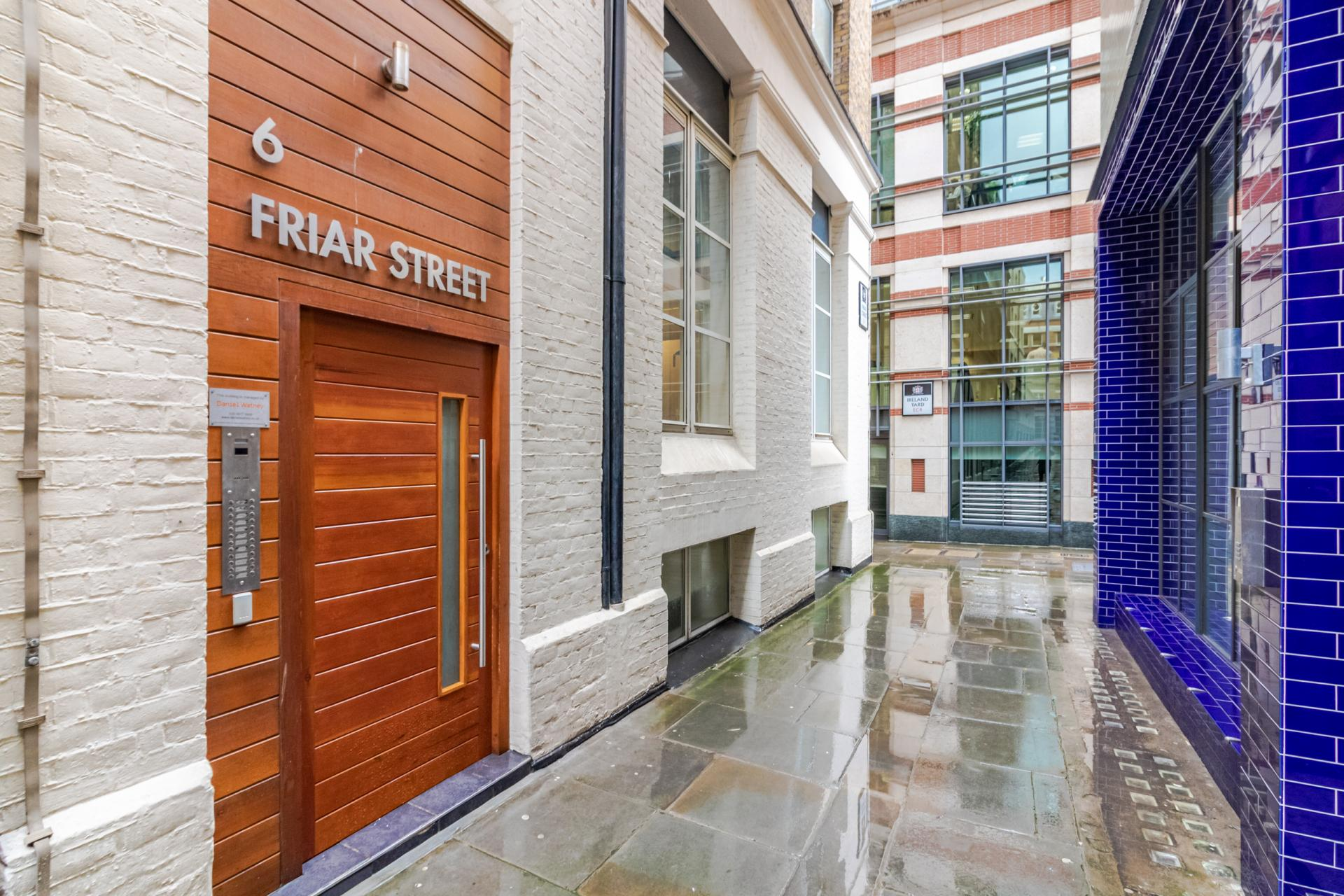Exterior at Priory House Apartments, City, London - Citybase Apartments