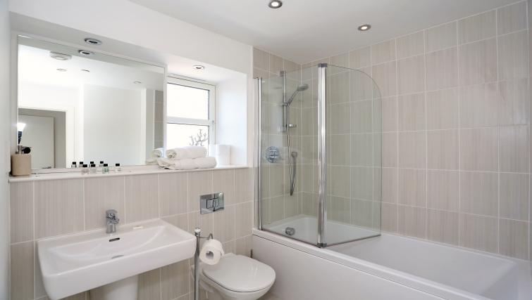 Bathroom at Summer Street Apartments - Citybase Apartments