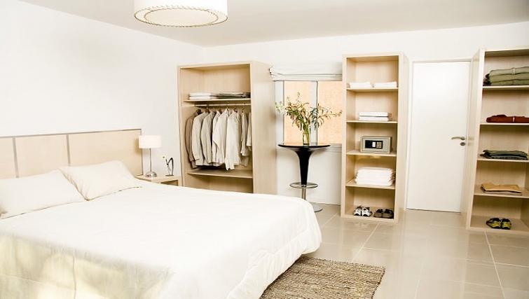 Bedroom at Soler Lofts Apartments - Citybase Apartments