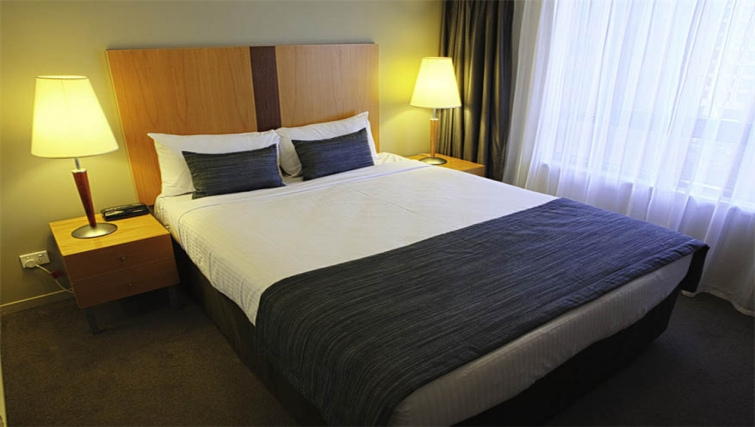 Bedroom at Mantra Southbank Melbourne - Citybase Apartments