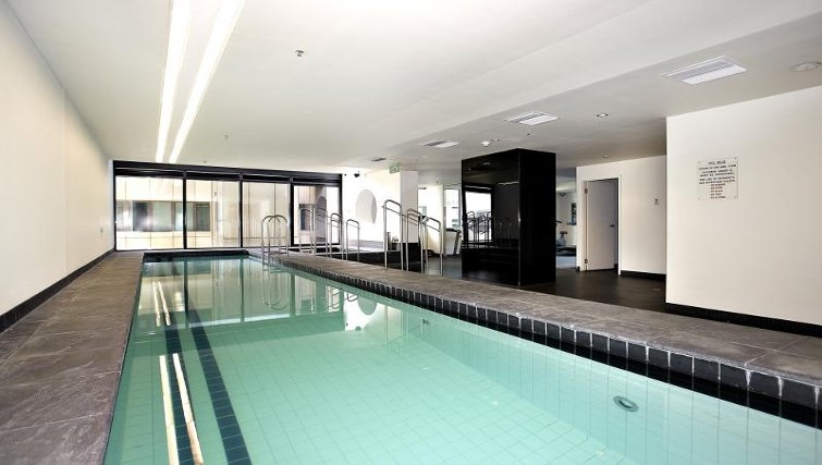 Swimming pool at Astra Melbourne CBD Liberty Tower - Citybase Apartments
