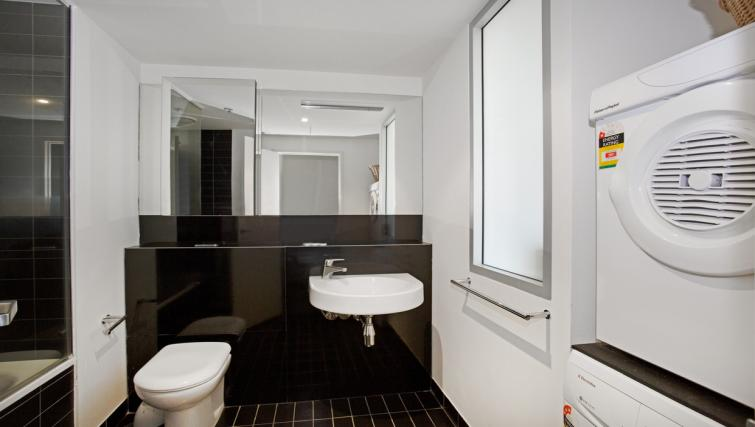 Bathroom at Astra Melbourne CBD Liberty Tower - Citybase Apartments