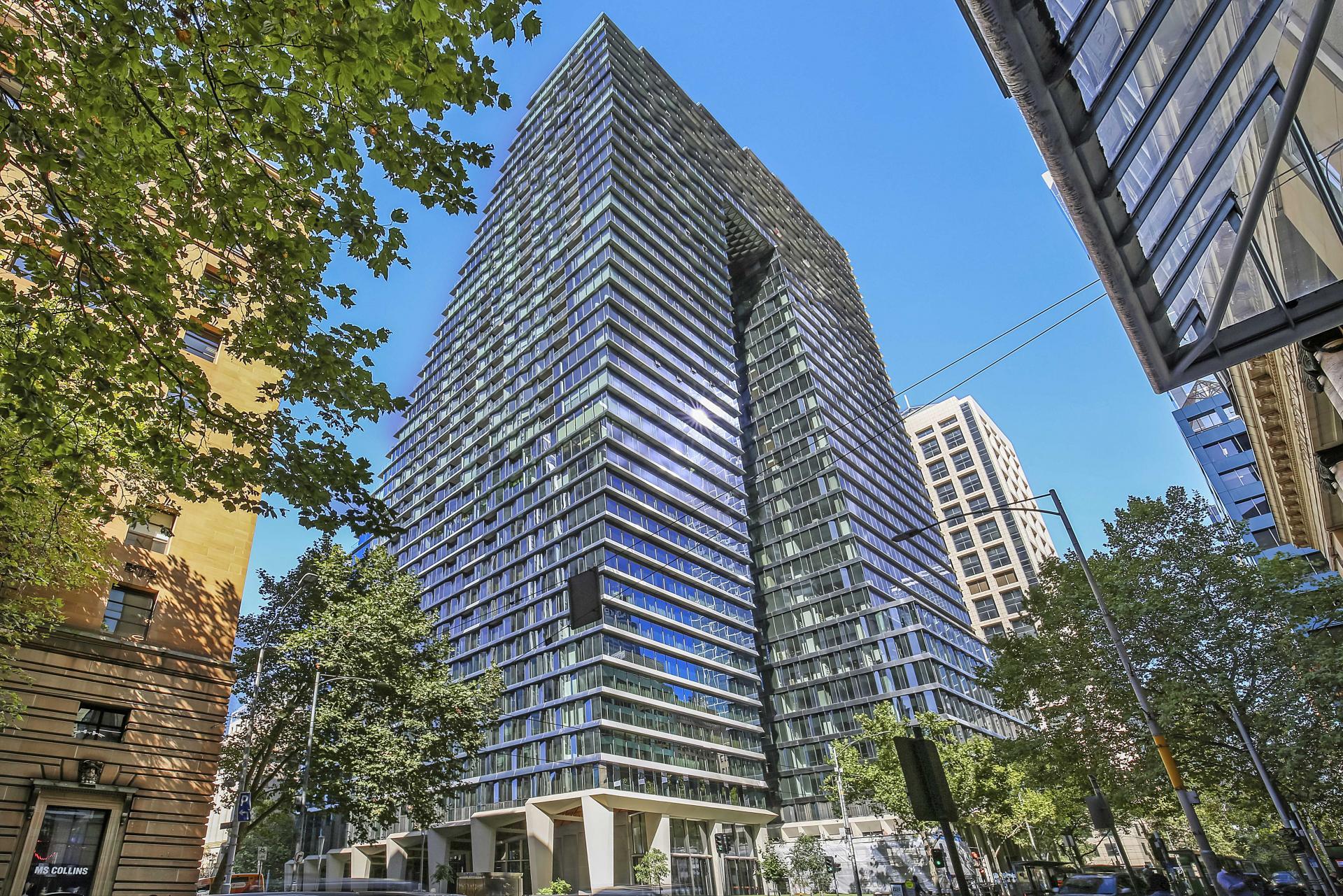 Exterior at Astra Melbourne CBD Liberty Tower - Citybase Apartments