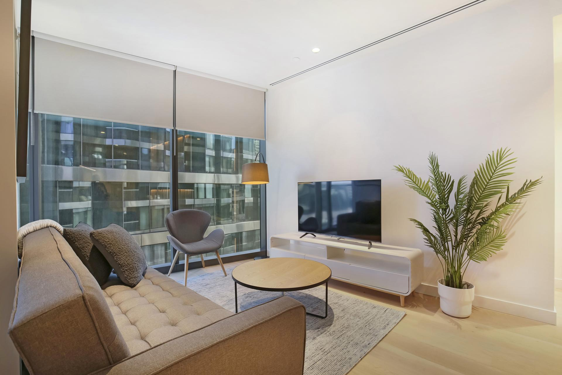 TV at Astra Melbourne CBD Liberty Tower - Citybase Apartments
