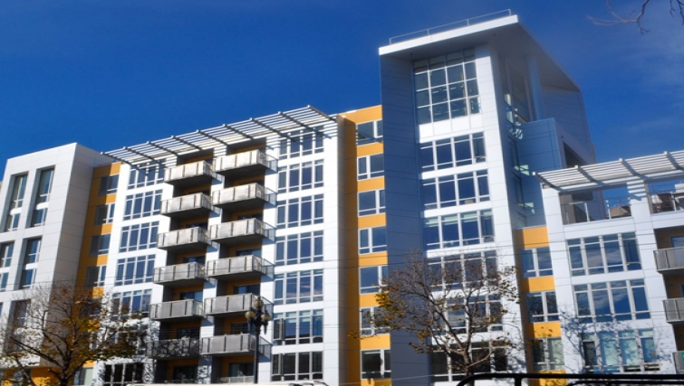 Exterior of Venn Apartments - Citybase Apartments