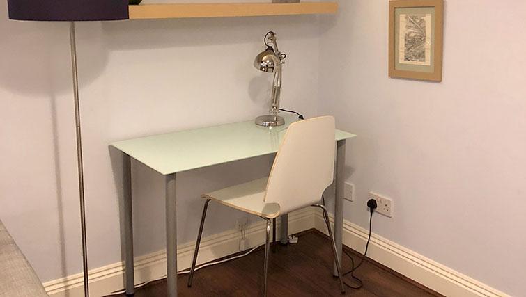 Desk at Monument ApartmentMonument Apartment - Citybase Apartments