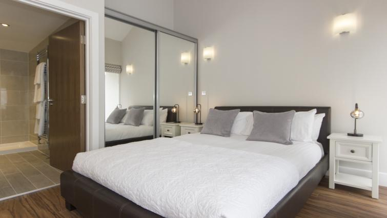 Modern bedroom at The Dales Apartments - Citybase Apartments