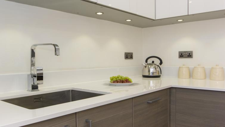 Equipped kitchen at Mill Park Apartments - Citybase Apartments