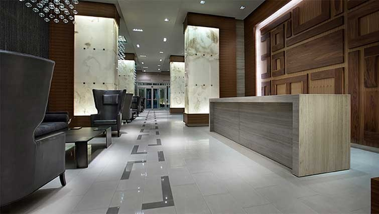 Lobby area at 300 Front Apartments - Citybase Apartments