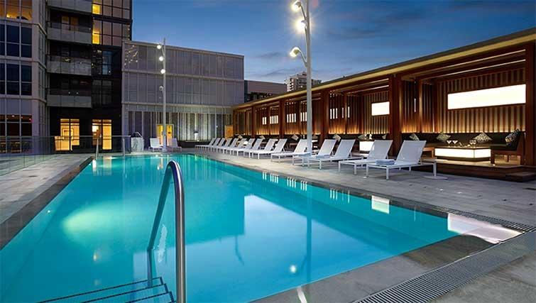 Pool at 300 Front Apartments - Citybase Apartments