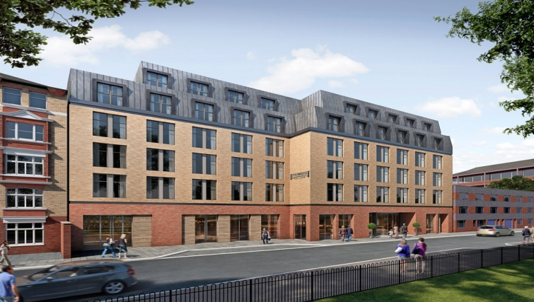 Exterior of Staybridge Suites London Vauxhall - Citybase Apartments