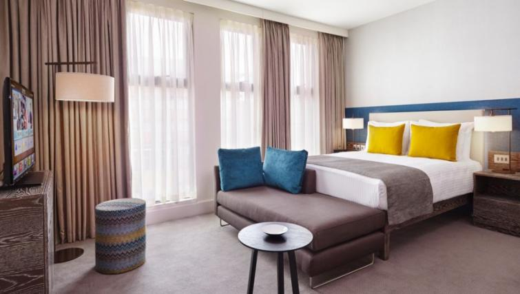 Bedroom at Staybridge Suites London Vauxhall - Citybase Apartments