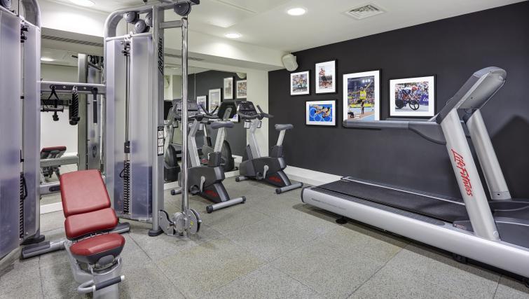 Gym at Staybridge Suites London Vauxhall - Citybase Apartments