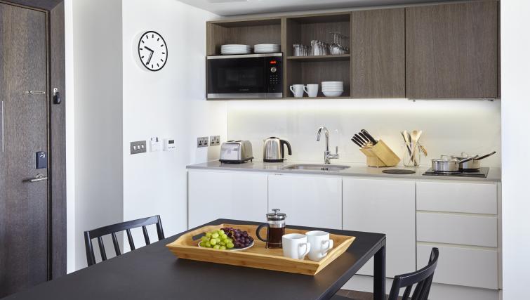 Dining area at Staybridge Suites London Vauxhall - Citybase Apartments