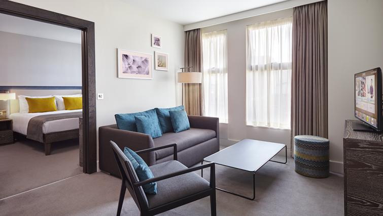 Lounge at Staybridge Suites London Vauxhall - Citybase Apartments