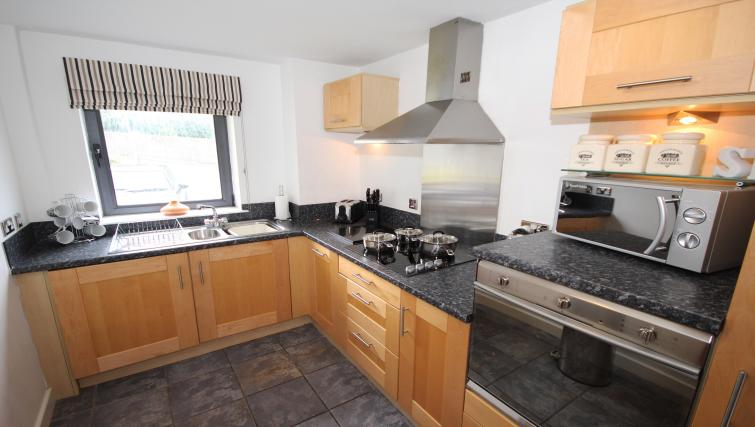 Kitchen at Baltic Quays Apartments - Citybase Apartments