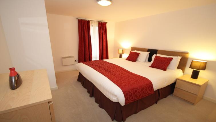 Bedroom at Baltic Quays Apartments - Citybase Apartments