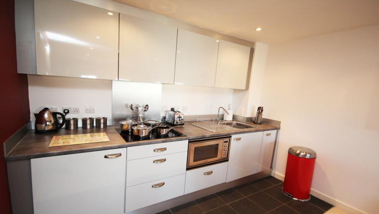 Kitchen at City Quadrant Apartments - Citybase Apartments