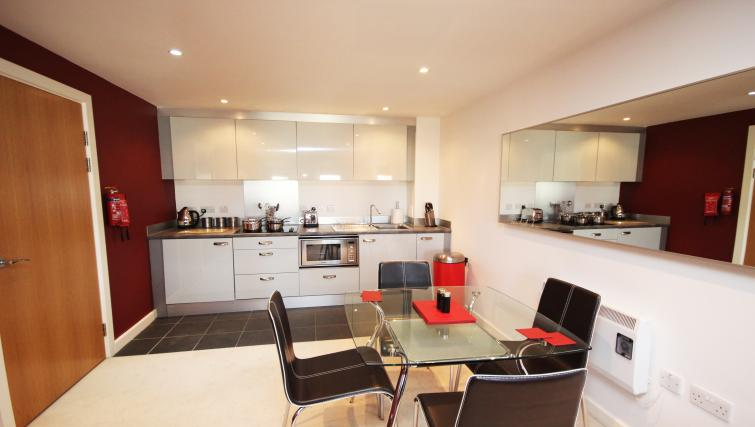 Kitchen/diner at City Quadrant Apartments - Citybase Apartments