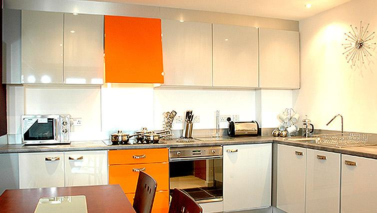Bright kitchen at City Quadrant Apartments - Citybase Apartments