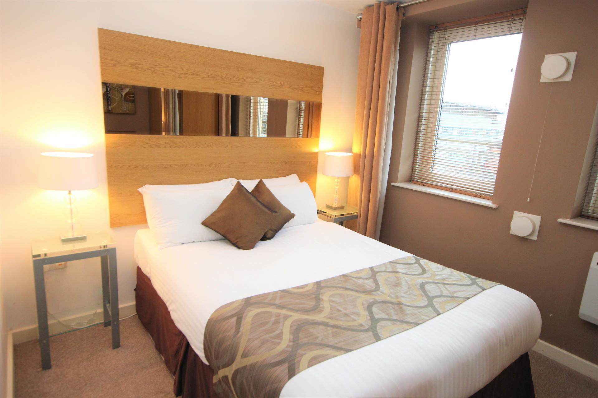 Bed at City Quadrant Apartments - Citybase Apartments
