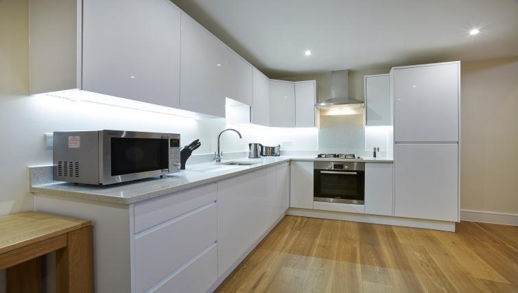 Kitchen at Old British School Apartments - Citybase Apartments