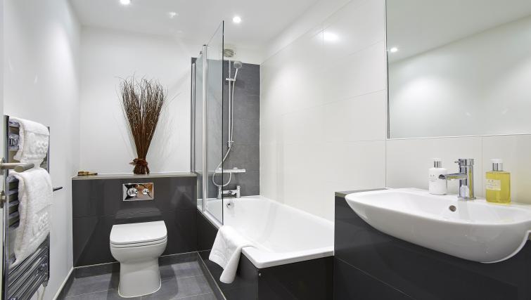 Bathroom at Old British School Apartments - Citybase Apartments