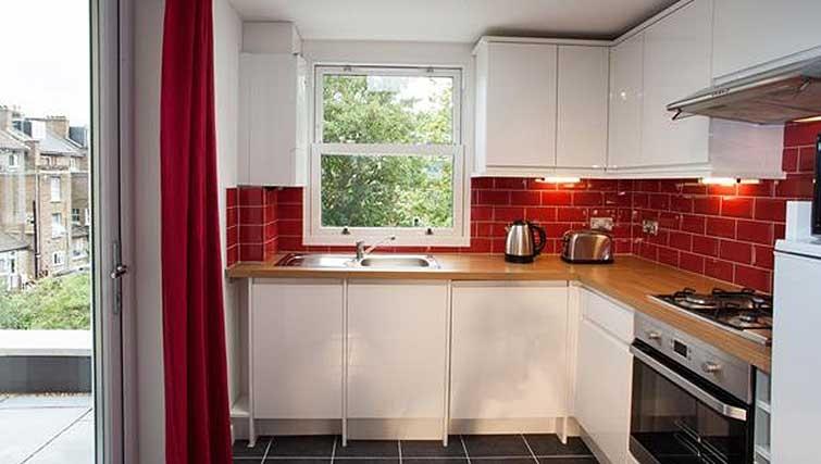 Kitchen at Brook Green Apartments - Citybase Apartments