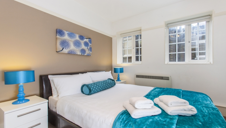 Bedroom at Liverpool Street Apartments - Citybase Apartments