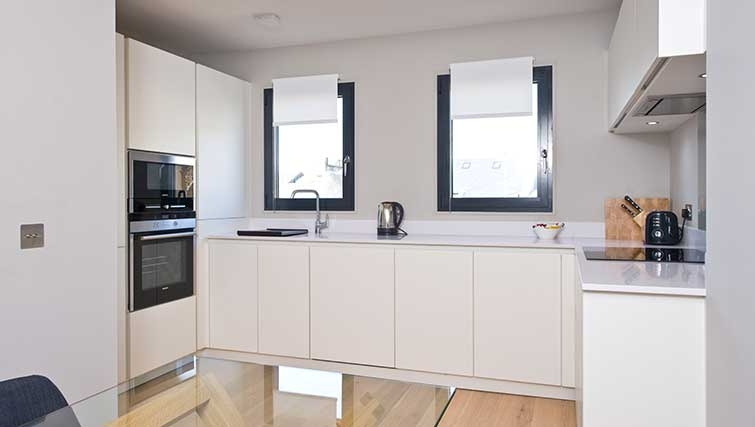 Kitchen at Hill Street Apartments - Citybase Apartments