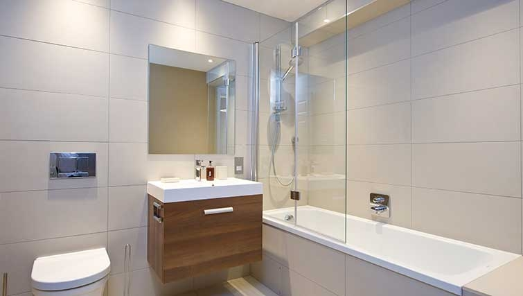 Bathroom at Hill Street Apartments - Citybase Apartments
