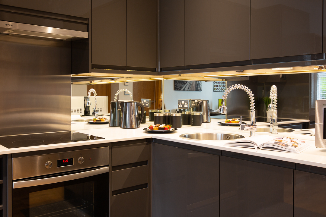 Oven at Alban House Apartments - Citybase Apartments