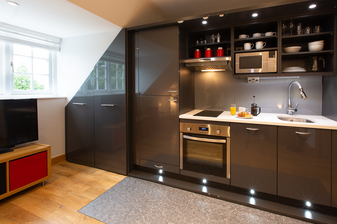 Kitchen at Alban House Apartments - Citybase Apartments