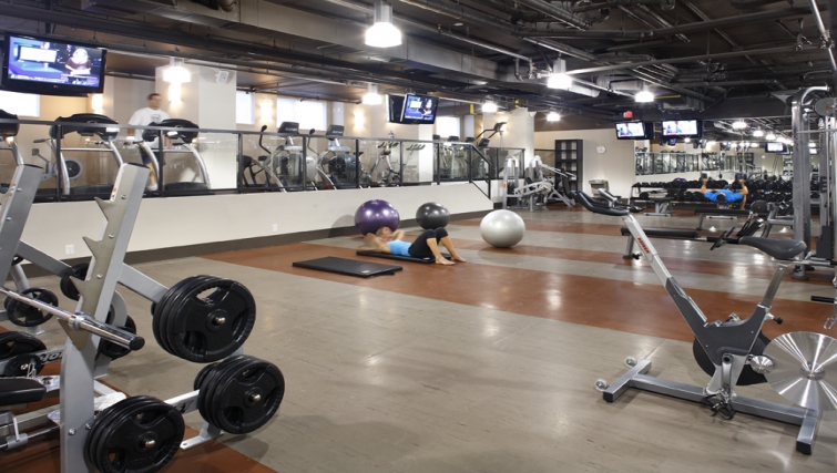 Gym at Level Furnished Living - Citybase Apartments