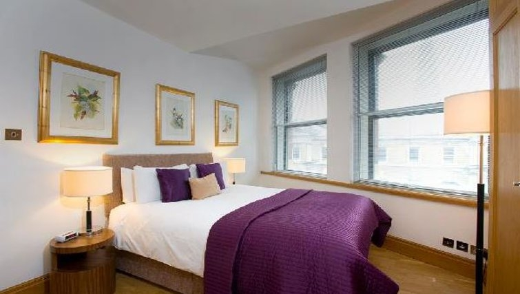 Delightful bedroom in Oakwood Monument Street Apartments - Citybase Apartments