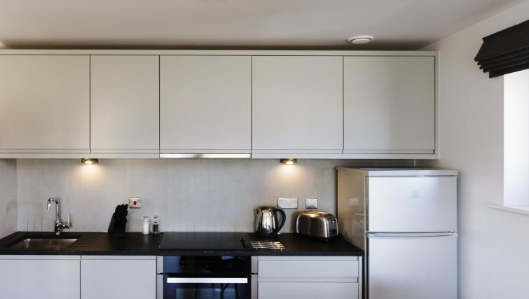 Fully equipped kitchen at Eden House Apartments - Citybase Apartments
