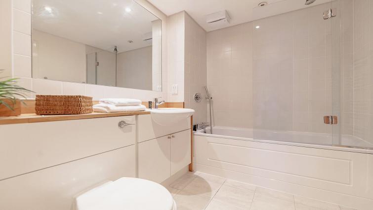 Bathroom at Marina Place Apartments - Citybase Apartments