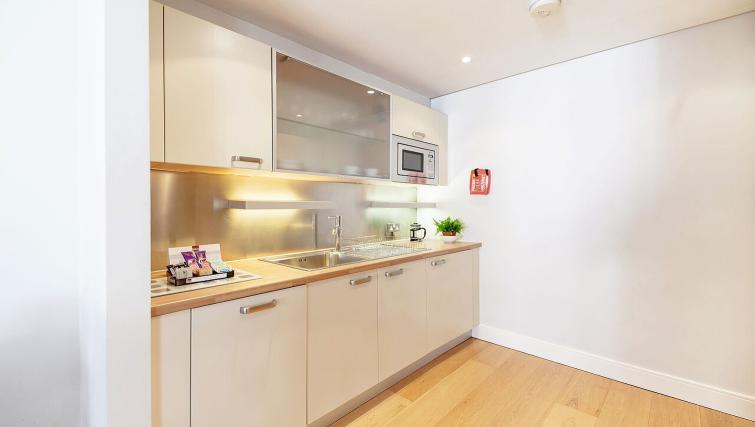 Kitchen area at Marina Place Apartments - Citybase Apartments