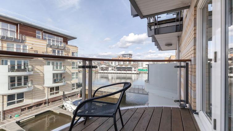 Balcony at Marina Place Apartments - Citybase Apartments