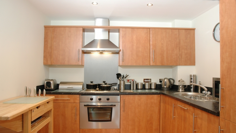 Kitchen in Curzon Places - Citybase Apartments
