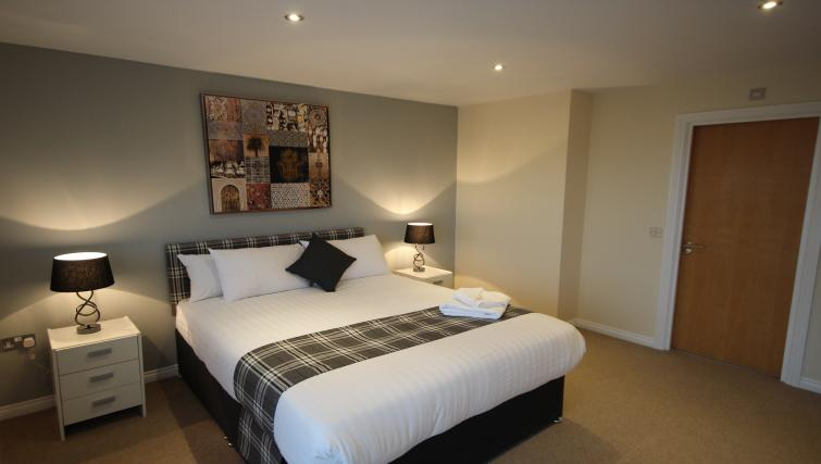 Bedroom at Curzon Place - Citybase Apartments