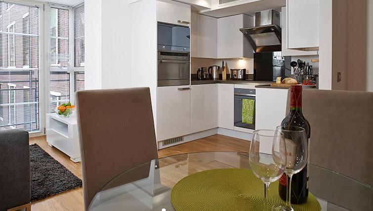 Kitchen at Oakwood Marylebone - Citybase Apartments
