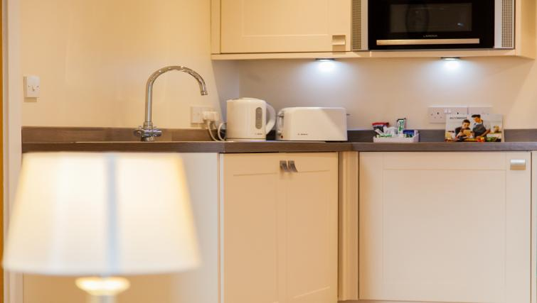 Kitchen facilities at The Willows Apartments - Citybase Apartments