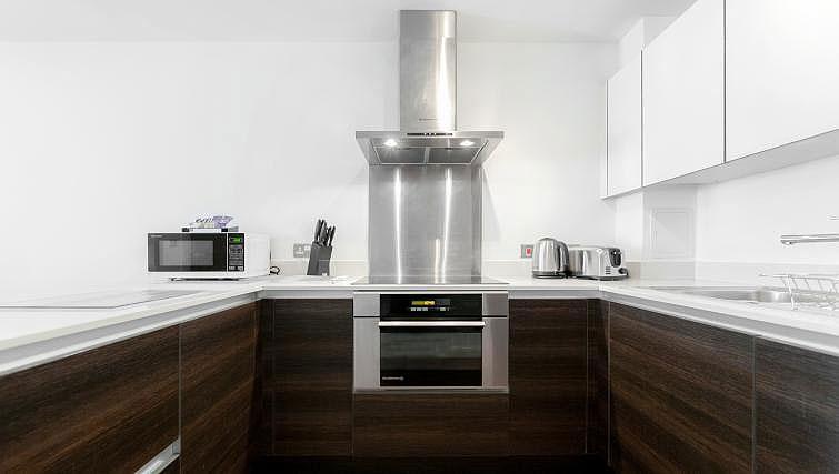 Kitchen at Chorus Apartment - Citybase Apartments
